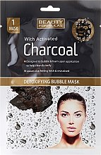 Духи, Парфюмерия, косметика Маска для лица - Beauty Formulas With Activated Charcoal Detoxifying Bubble Mask