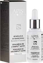 Духи, Парфюмерия, косметика Сыворотка для лица - APIS Professional Hyaluron 4D + Snap-8 Peptide