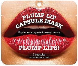 Духи, Парфюмерия, косметика Капсульная сыворотка для увеличения объема губ - Kocostar Plump Lip Capsule Mask Pouch