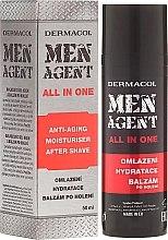 Духи, Парфюмерия, косметика Крем-бальзам для лица - Dermacol Men Agent All In One