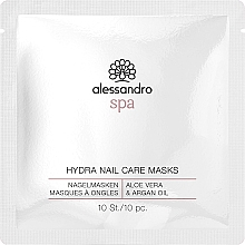 Духи, Парфюмерия, косметика Маска для ногтей - Alessandro Spa Hydra Nail Care Mask