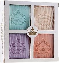 Духи, Парфюмерия, косметика Набор - Essencias De Portugal Aromas Collection (soap/4x80g)