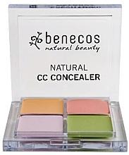 Духи, Парфюмерия, косметика Палетка корректоров для лица - Benecos Natural CC Concealer