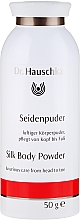 Духи, Парфюмерия, косметика Пудра для тела с шелком - Dr. Hauschka Silk Body Powder