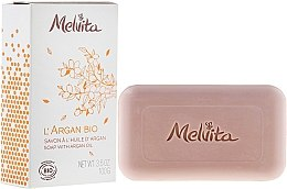 Духи, Парфюмерия, косметика Мыло для лица и тела - Melvita L'Argan Bio Soap With Argan Oil