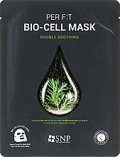 Духи, Парфюмерия, косметика Биоцеллюлозная маска с экстрактом чайного дерева - SNP Double Synergy Soothing Bio-Cell Mask