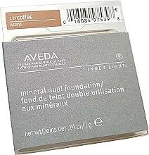 Духи, Парфюмерия, косметика Компактная тональная основа - Aveda Inner Light Mineral Dual Foundation SPF12