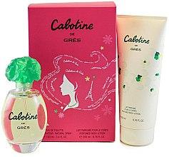 Духи, Парфюмерия, косметика Parfums Gres Cabotine - Набор (edt/100ml + b/lot/200ml)