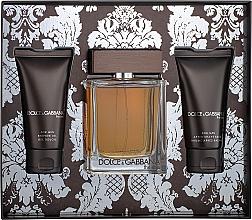 Духи, Парфюмерия, косметика Dolce&Gabbana The One For Men - Набор (edt/100ml + ash/balm/50ml + sh/gel/50ml)
