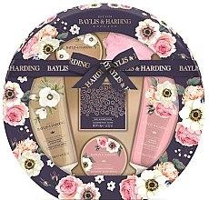 Духи, Парфюмерия, косметика Набор - Baylis & Harding Royale Garden (sh/cr/130ml + b/wash/130ml + b/butter/100ml + soap/150g + b/krystals/100g + sponge/1)