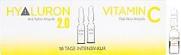 Духи, Парфюмерия, косметика Ампулы для лица - Alcina Hyaluron 2.0 & Vitamin C Ampulle