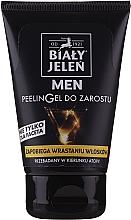 Духи, Парфюмерия, косметика Гель-пилинг для бороды - Bialy Jelen Men Peelin Gel