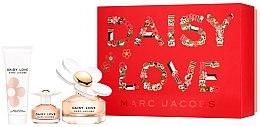 Духи, Парфюмерия, косметика Marc Jacobs Daisy Love - Набор (edt/100ml + edt/4ml + b/lot/75ml)