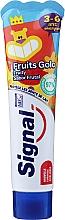 Духи, Парфюмерия, косметика Зубная паста с фруктовым вкусом, для детей от 3 до 6 лет - Signal Kids Fruit Flavor Toothpaste
