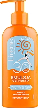 Духи, Парфюмерия, косметика Эмульсия для загара - Lirene Sun Care Sporty Moisturizing Emulsion SPF30 (с дозатором)