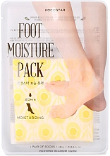 Духи, Парфюмерия, косметика Увлажняющая маска-уход для ног - Kocostar Foot Moisture Pack Yellow