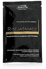 Духи, Парфюмерия, косметика Осветлитель для волос - Joanna Professional Platinum Classic Lightener (саше)