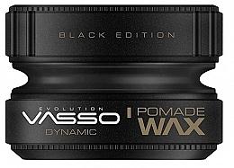 Духи, Парфюмерия, косметика Помада для укладки волос - Vasso Professional Hair Styling Pomade Wax Black Edition Dynamic