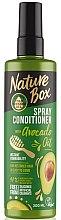 Духи, Парфюмерия, косметика Спрей-кондиционер для волос - Nature Box Avocado Oil Spray Conditioner