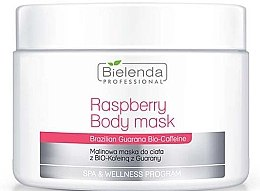 Духи, Парфюмерия, косметика Маска для тела - Bielenda Professional Raspberry With Guarana Bio-Caffeine Body Mask