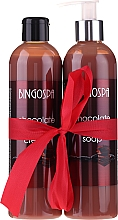 Духи, Парфюмерия, косметика Набор - BingoSpa Chocolate (sh/gel/300ml + soap/300ml)