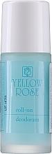 Духи, Парфюмерия, косметика Шариковый дезодорант для мужчин - Yellow Rose Deodorant Blue Roll-On