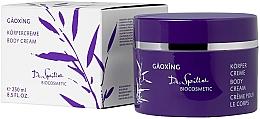 Духи, Парфюмерия, косметика Крем для тела - Dr. Spiller Gaoxing Body Cream