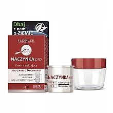 Духи, Парфюмерия, косметика Набор - Floslek Dilated Capillaries Moisturizing (f/cr/refill/50ml + jar)