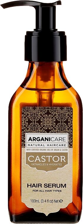 Сыворотка для роста волос - Arganicare Castor Oil Hair Serum — фото N2