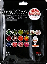 "Духи, Парфюмерия, косметика Маска + сыворотка ""Протеины шелка регенерация рук"" - Beauty Face Mooya Bio Organic Treatment Mask + Serum"