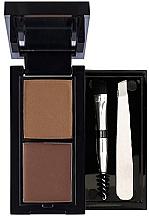 Духи, Парфюмерия, косметика Набор для бровей - Flormar Eyebrow Design Kit