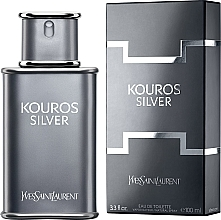 Духи, Парфюмерия, косметика Yves Saint Laurent Kouros Silver - Туалетная вода