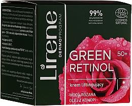 Духи, Парфюмерия, косметика Дневной лифтинг-крем для лица - Lirene Green Retinol Lifting Day Cream 50+