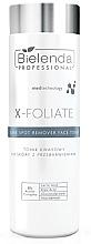 Духи, Парфюмерия, косметика Тоник для лица осветляющий - Bielenda Professional X-Foliate Dark Spot Remover Face Toner