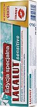 Духи, Парфюмерия, косметика Набор - Lacalut Sensitive Special Edition Set (t/paste/75ml + dental/floss)