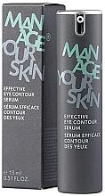 Духи, Парфюмерия, косметика Эффективная сыворотка для кожи вокруг глаз - Dr. Spiller Manage Your Skin Effective Eye Contour Serum