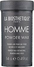 Духи, Парфюмерия, косметика Пудра-воск для волос - La Biosthetique Homme Powder Wax