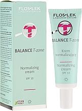 Духи, Парфюмерия, косметика Дневной нормализующий крем для лица - FlosLek Balance T-Zone Normalizing Day Cream SPF 10