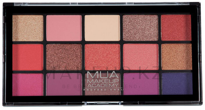 Палетка теней для век - MUA 15 Shade Eyeshadow Palette — фото Cosmic Vixen