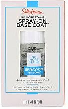 Духи, Парфюмерия, косметика Базовое покрытие для ногтей - Sally Hansen No More Stains Spray-On Base Coat