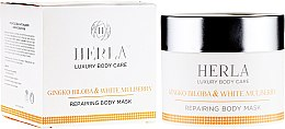 Духи, Парфюмерия, косметика Маска для тела - Herla Luxury Body Care Gingko Biloba & White Mulberry Body Mask