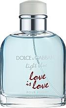 Духи, Парфюмерия, косметика Dolce & Gabbana Light Blue Love is Love Pour Homme - Туалетная вода