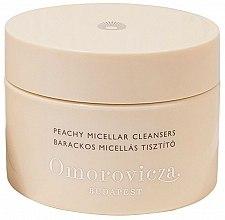 Духи, Парфюмерия, косметика Очищающие диски для лица - Omorovicza Peachy Micellar Cleansers