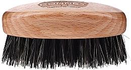 Духи, Парфюмерия, косметика Деревянная щетка для бороды с натуральной щетиной, светлая - Ronney Professional Barber Small Brush