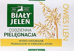 Духи, Парфюмерия, косметика Гипоаллергенное мыло, экстракт из овса - Bialy Jelen Hypoallergenic Soap Natural Oats