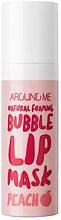 Духи, Парфюмерия, косметика Пузырьковая маска для губ - Welcos Natural Foaming Bubble Lip Mask Peach