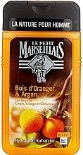 """Духи, Парфюмерия, косметика Гель для душа """"Апельсиновое дерево и Аргана"""" - Le Petit Marseillais Men Body and Hair"""