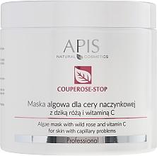 Духи, Парфюмерия, косметика Маска для лица с экстрактом шиповника - APIS Professional Algae Mask