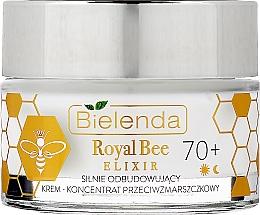 Духи, Парфюмерия, косметика Восстанавливающий крем-концентрат против морщин - Bielenda Royal Bee Elixir 70+ Cream Concentrate