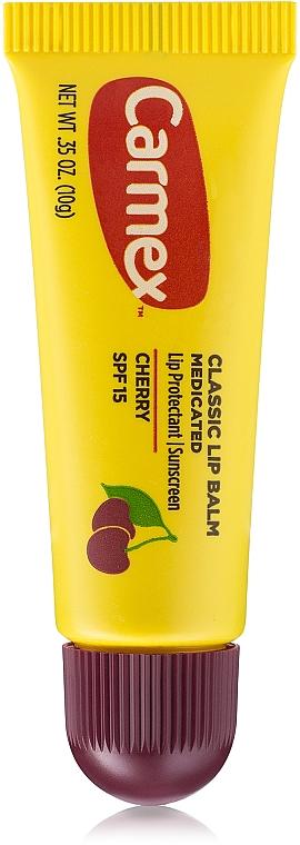 """Бальзам для губ в тюбике """"Вишня"""" - Carmex Cherry Lip Balm — фото N1"""